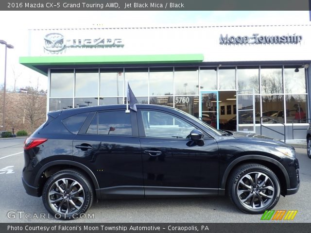 2016 Mazda CX-5 Grand Touring AWD in Jet Black Mica