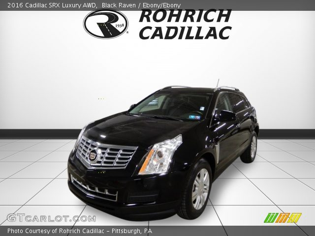 2016 Cadillac SRX Luxury AWD in Black Raven