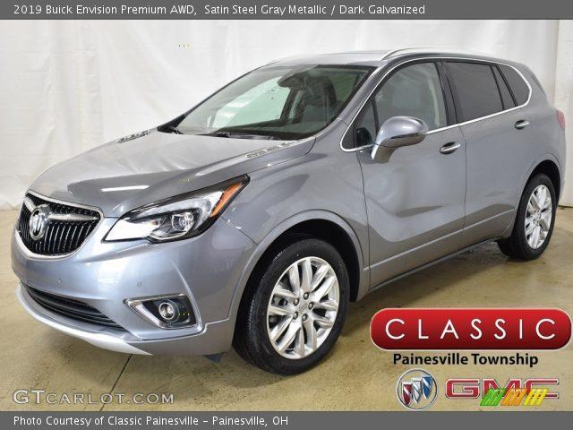 2019 Buick Envision Premium AWD in Satin Steel Gray Metallic