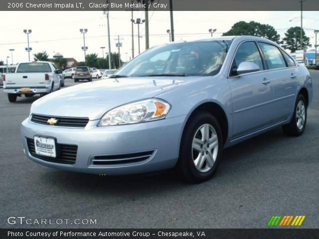 glacier blue metallic 2006 chevrolet impala lt gray. Black Bedroom Furniture Sets. Home Design Ideas