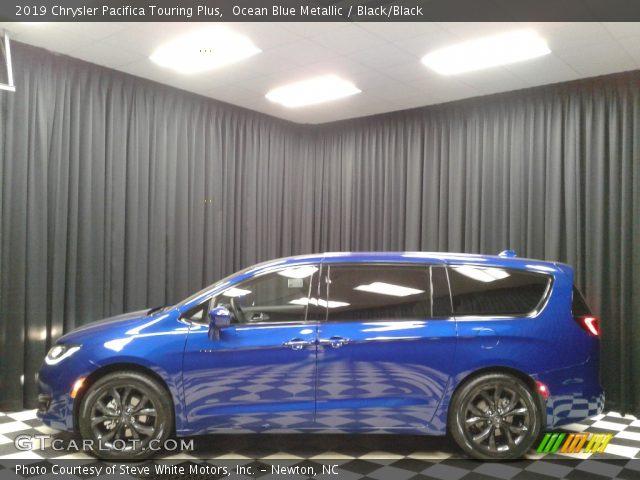 2019 Chrysler Pacifica Touring Plus in Ocean Blue Metallic