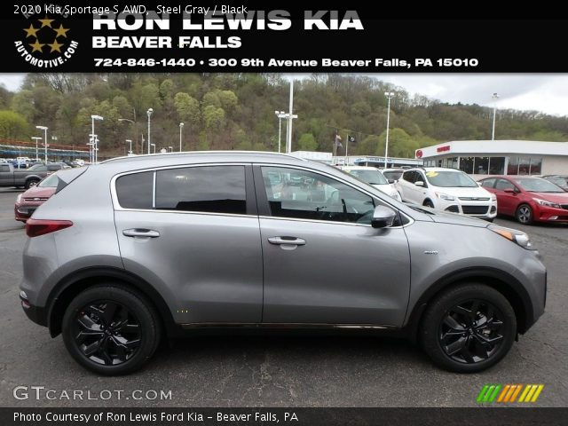 2020 Kia Sportage S AWD in Steel Gray
