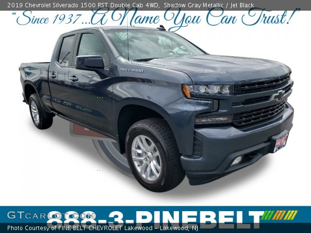 2019 Chevrolet Silverado 1500 RST Double Cab 4WD in Shadow Gray Metallic