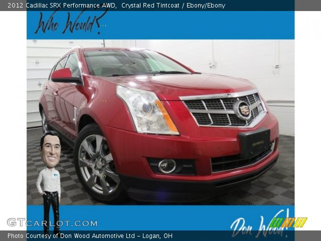 2012 Cadillac SRX Performance AWD in Crystal Red Tintcoat