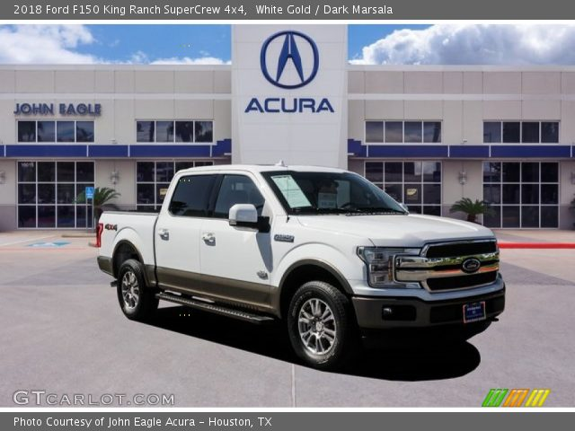 2018 Ford F150 King Ranch SuperCrew 4x4 in White Gold