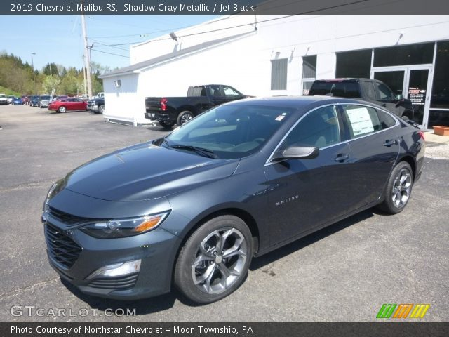 Shadow Gray Metallic 2019 Chevrolet Malibu Rs Jet Black