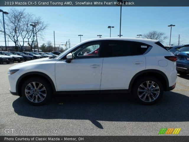 2019 Mazda CX-5 Grand Touring AWD in Snowflake White Pearl Mica