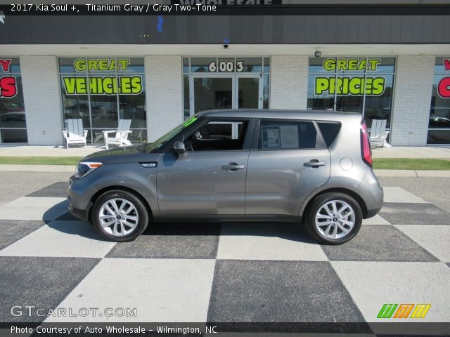 2017 Kia Soul + in Titanium Gray