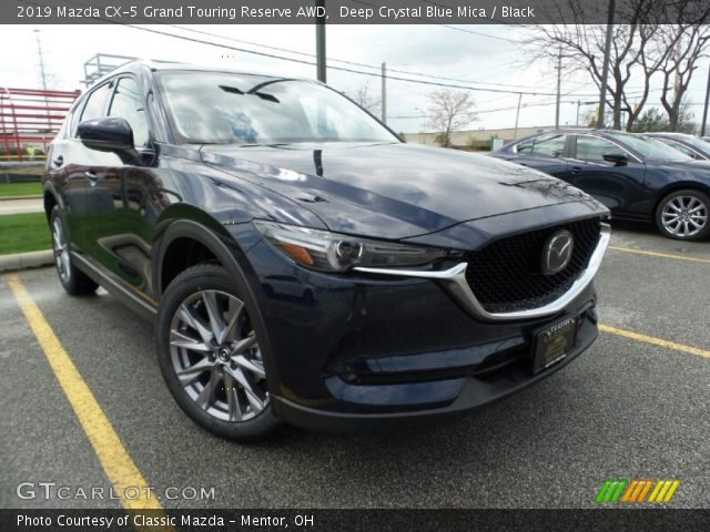 2019 Mazda CX-5 Grand Touring Reserve AWD in Deep Crystal Blue Mica