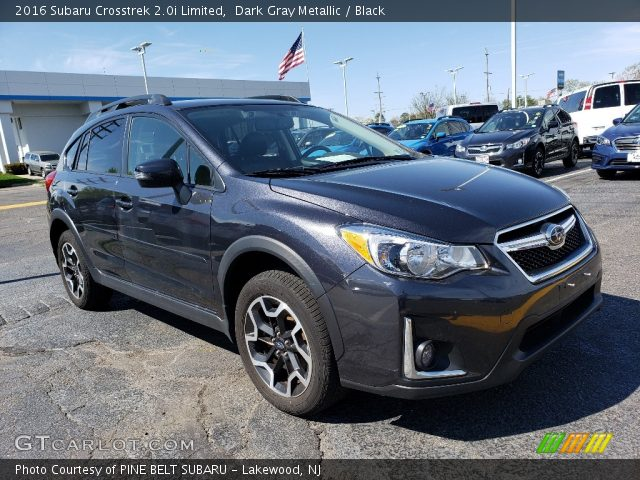 2016 Subaru Crosstrek 2.0i Limited in Dark Gray Metallic