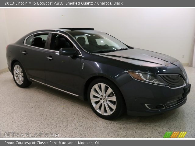 2013 Lincoln MKS EcoBoost AWD in Smoked Quartz
