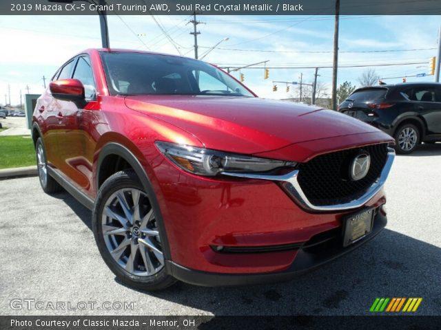 2019 Mazda CX-5 Grand Touring AWD in Soul Red Crystal Metallic