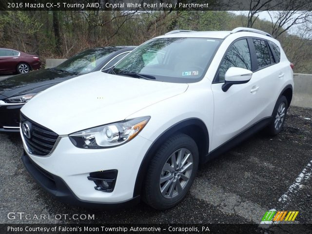 2016 Mazda CX-5 Touring AWD in Crystal White Pearl Mica