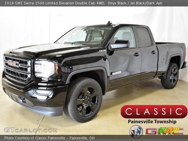 2019 GMC Sierra 1500 Limited Elevation Double Cab 4WD in Onyx Black