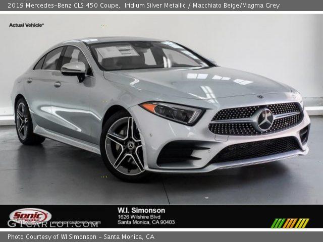 2019 Mercedes-Benz CLS 450 Coupe in Iridium Silver Metallic