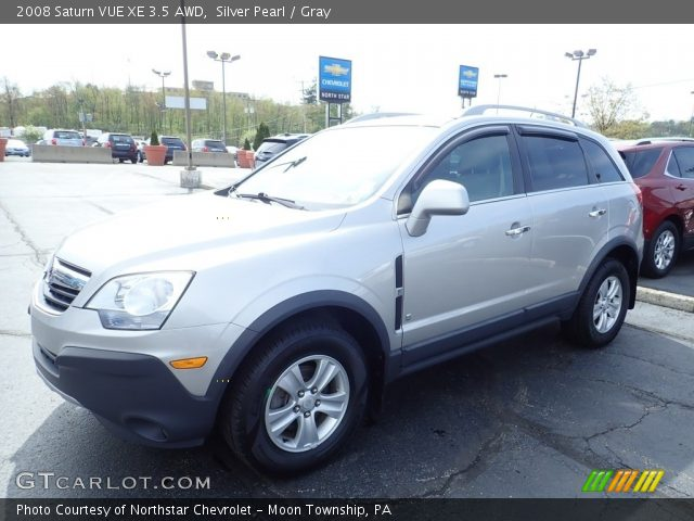 2008 Saturn VUE XE 3.5 AWD in Silver Pearl