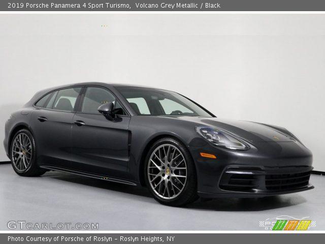 2019 Porsche Panamera 4 Sport Turismo in Volcano Grey Metallic