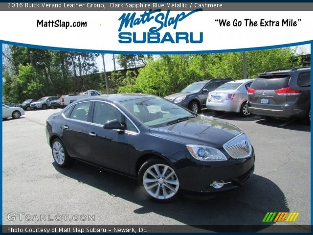 2016 Buick Verano Leather Group in Dark Sapphire Blue Metallic