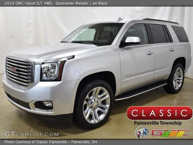 2019 GMC Yukon SLT 4WD in Quicksilver Metallic