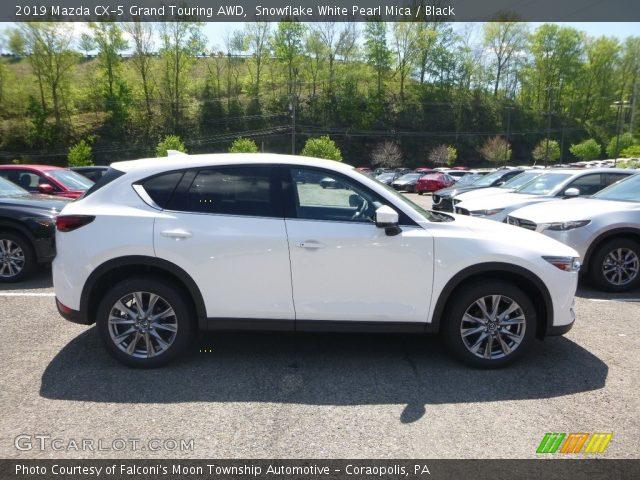 2019 Mazda CX-5 Grand Touring AWD in Snowflake White Pearl Mica