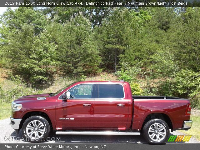 2019 Ram 1500 Long Horn Crew Cab 4x4 in Delmonico Red Pearl