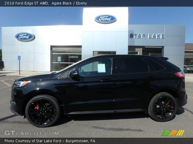 2019 Ford Edge ST AWD in Agate Black