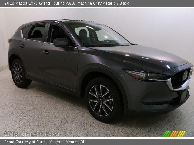2018 Mazda CX-5 Grand Touring AWD in Machine Gray Metallic