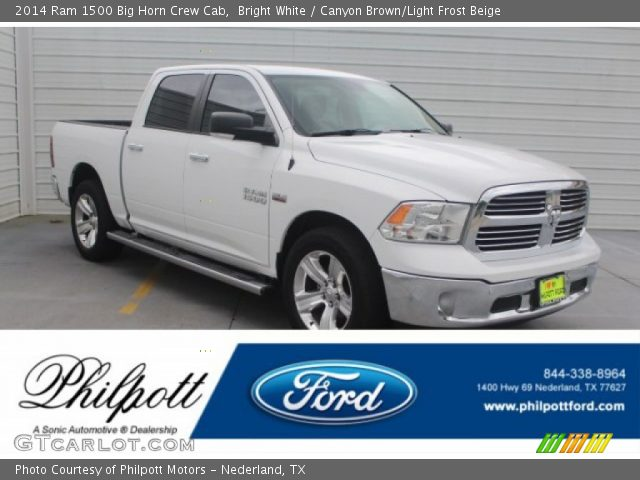 2014 Ram 1500 Big Horn Crew Cab in Bright White