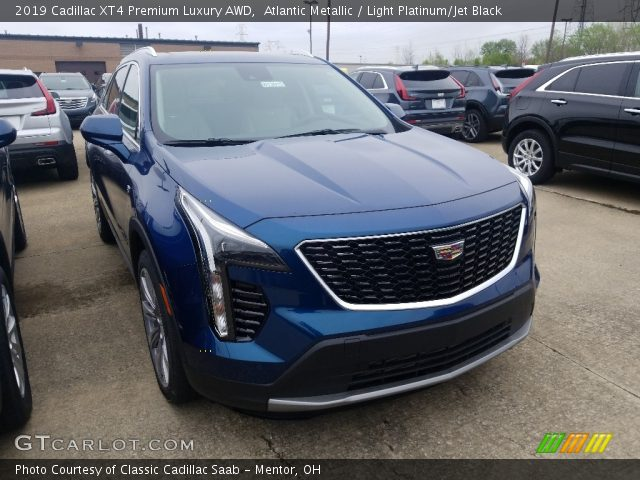 2019 Cadillac XT4 Premium Luxury AWD in Atlantic Metallic