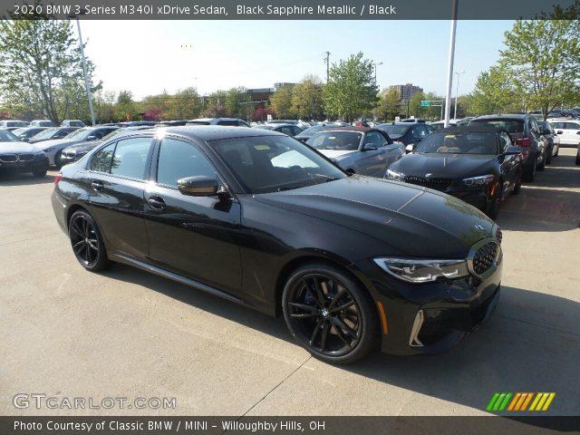2020 BMW 3 Series M340i xDrive Sedan in Black Sapphire Metallic