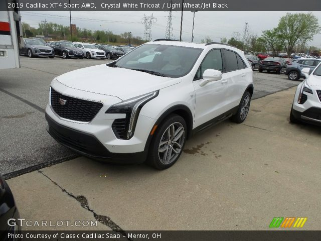 2019 Cadillac XT4 Sport AWD in Crystal White Tricoat