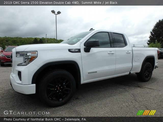 2019 GMC Sierra 1500 Elevation Double Cab 4WD in Summit White