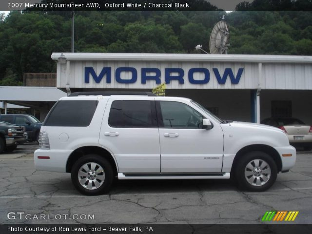 2007 Mercury Mountaineer AWD in Oxford White