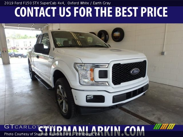 2019 Ford F150 STX SuperCab 4x4 in Oxford White