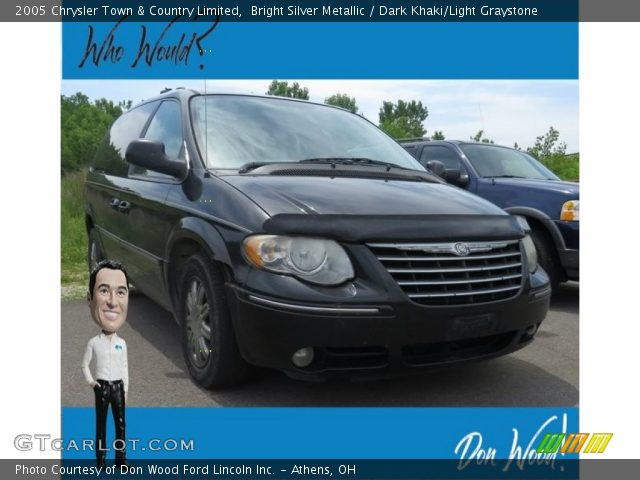 2005 Chrysler Town & Country Limited in Bright Silver Metallic
