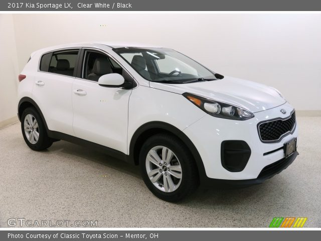 2017 Kia Sportage LX in Clear White