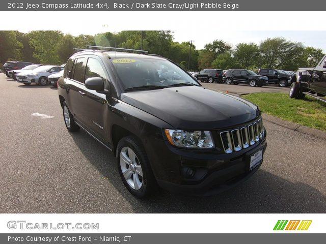 2012 Jeep Compass Latitude 4x4 in Black