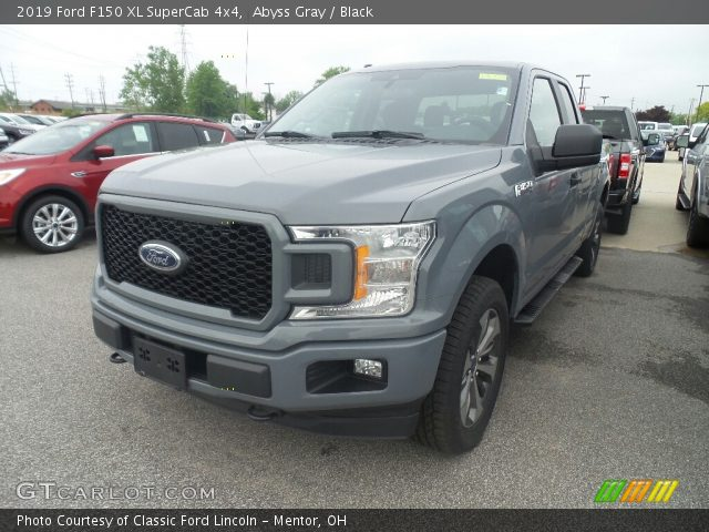 2019 Ford F150 XL SuperCab 4x4 in Abyss Gray
