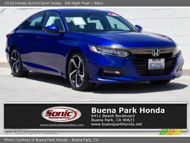 2018 Honda Accord Sport Sedan in Still Night Pearl