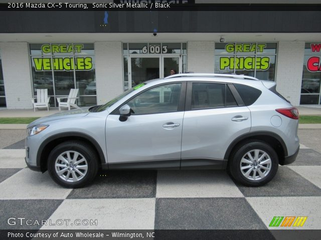 2016 Mazda CX-5 Touring in Sonic Silver Metallic