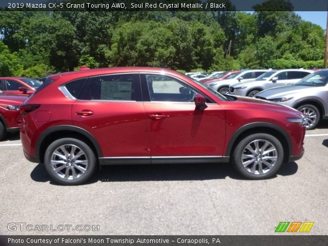 2019 Mazda CX-5 Grand Touring AWD in Soul Red Crystal Metallic