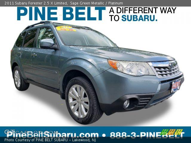 2011 Subaru Forester 2.5 X Limited in Sage Green Metallic