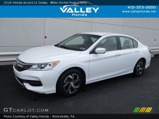 2016 Honda Accord LX Sedan in White Orchid Pearl