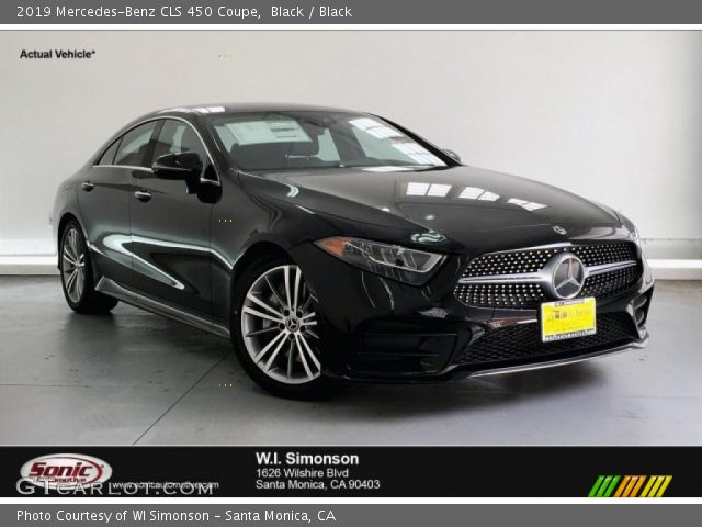 2019 Mercedes-Benz CLS 450 Coupe in Black