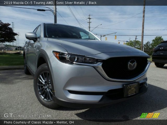 2019 Mazda CX-5 Touring AWD in Sonic Silver Metallic