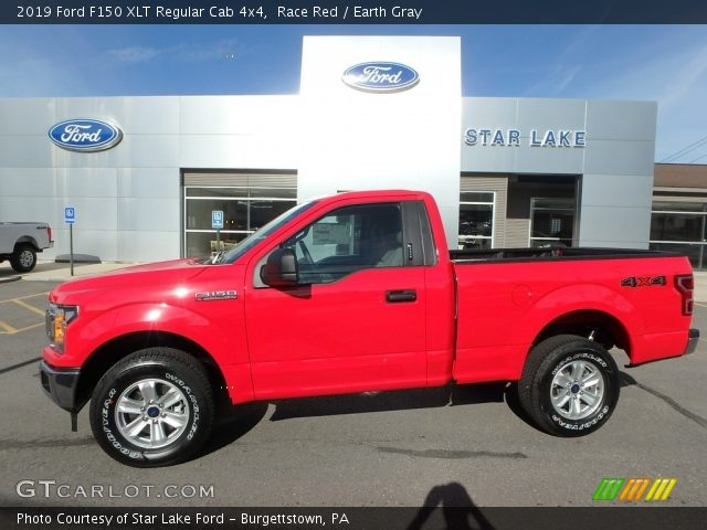2019 Ford F150 XLT Regular Cab 4x4 in Race Red