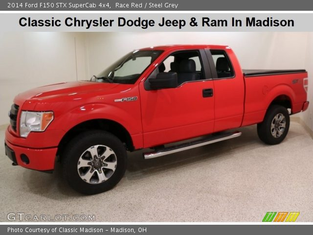 2014 Ford F150 STX SuperCab 4x4 in Race Red
