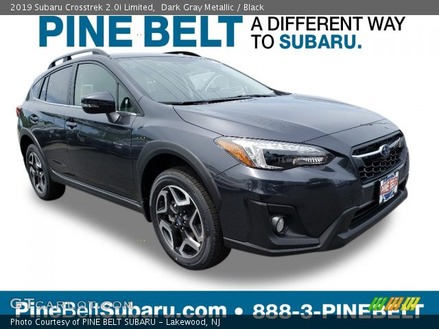 2019 Subaru Crosstrek 2.0i Limited in Dark Gray Metallic