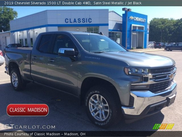 2019 Chevrolet Silverado 1500 LT Double Cab 4WD in Satin Steel Metallic