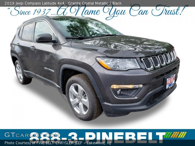 2019 Jeep Compass Latitude 4x4 in Granite Crystal Metallic